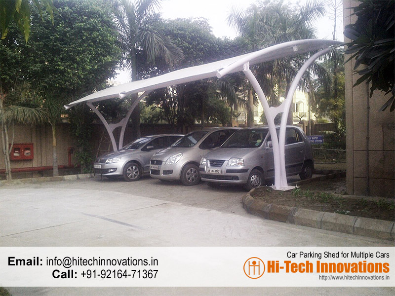 Car Parking Shed (for Multiple Cars)