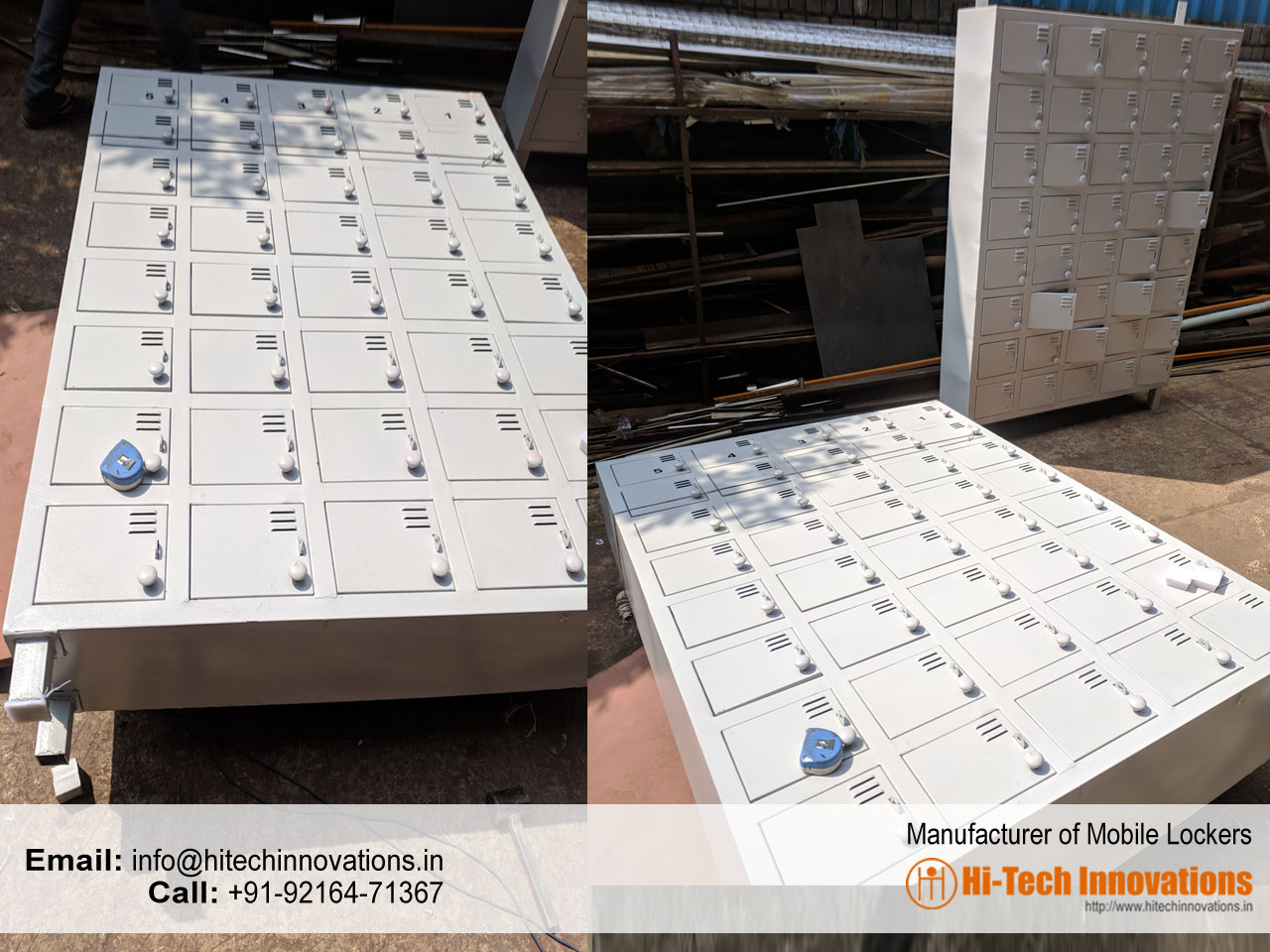 Manufacturers of Mobile Lockers
