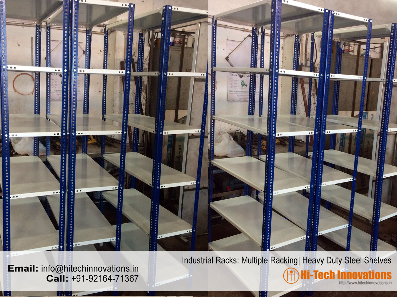 Industrial Racks | Steel Racks | Heavy Duty Shelves
