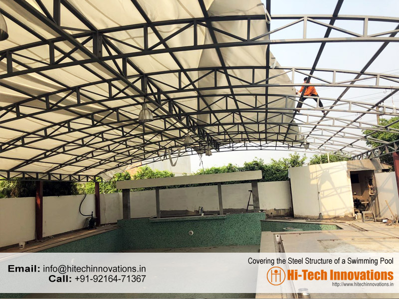 Steel Structure for Swimming Pool Manufacturers