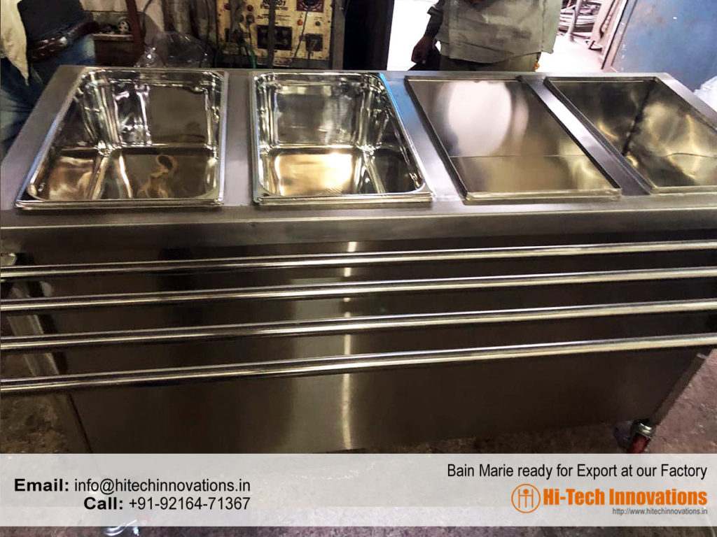 Bain Marie Without Top Lids
