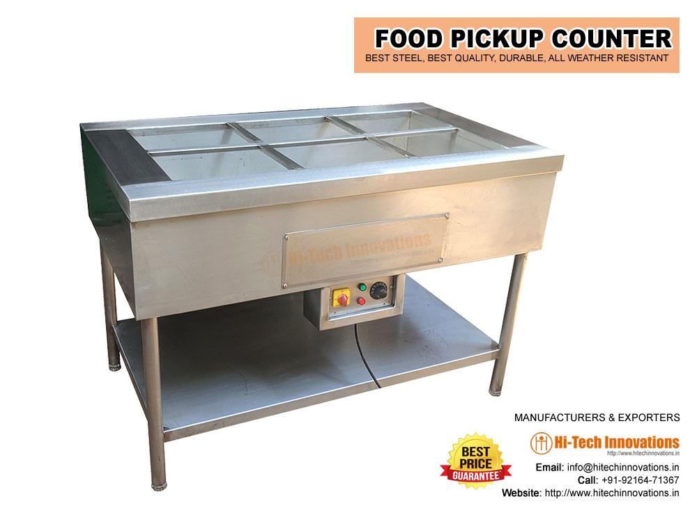 Food Pickup Counter