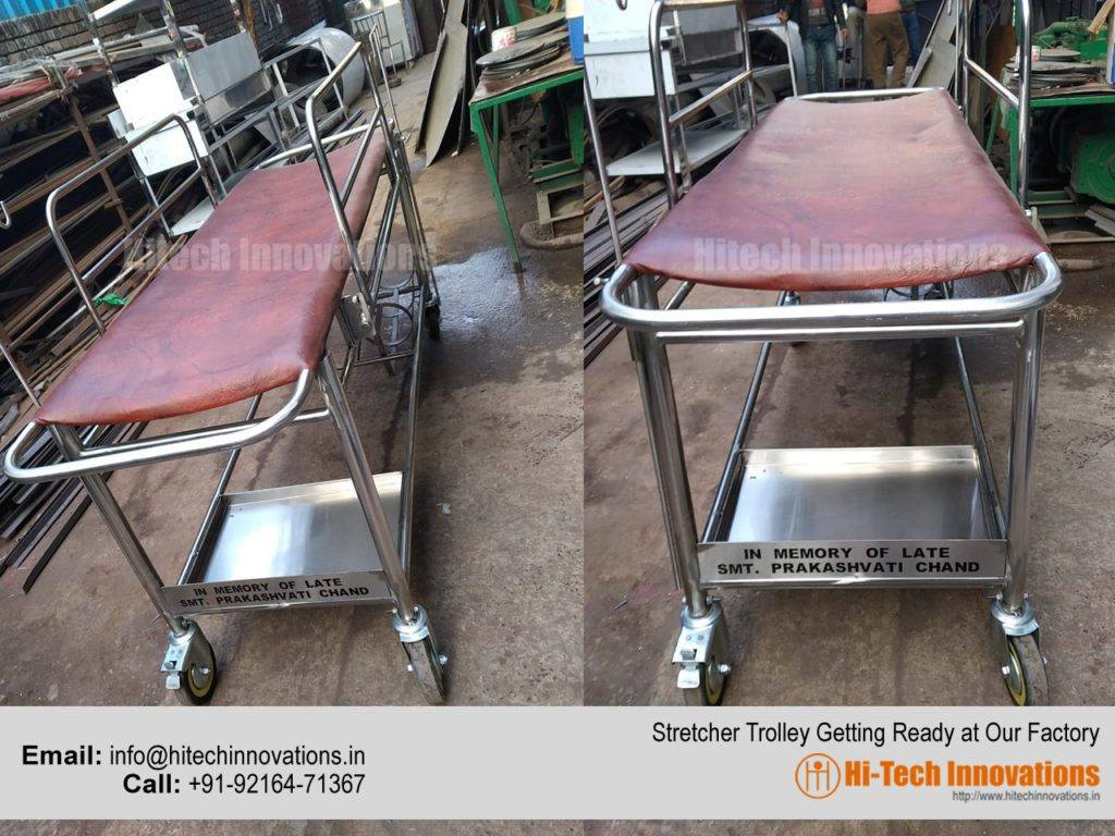Stretcher Trolley Getting Ready at our Factory