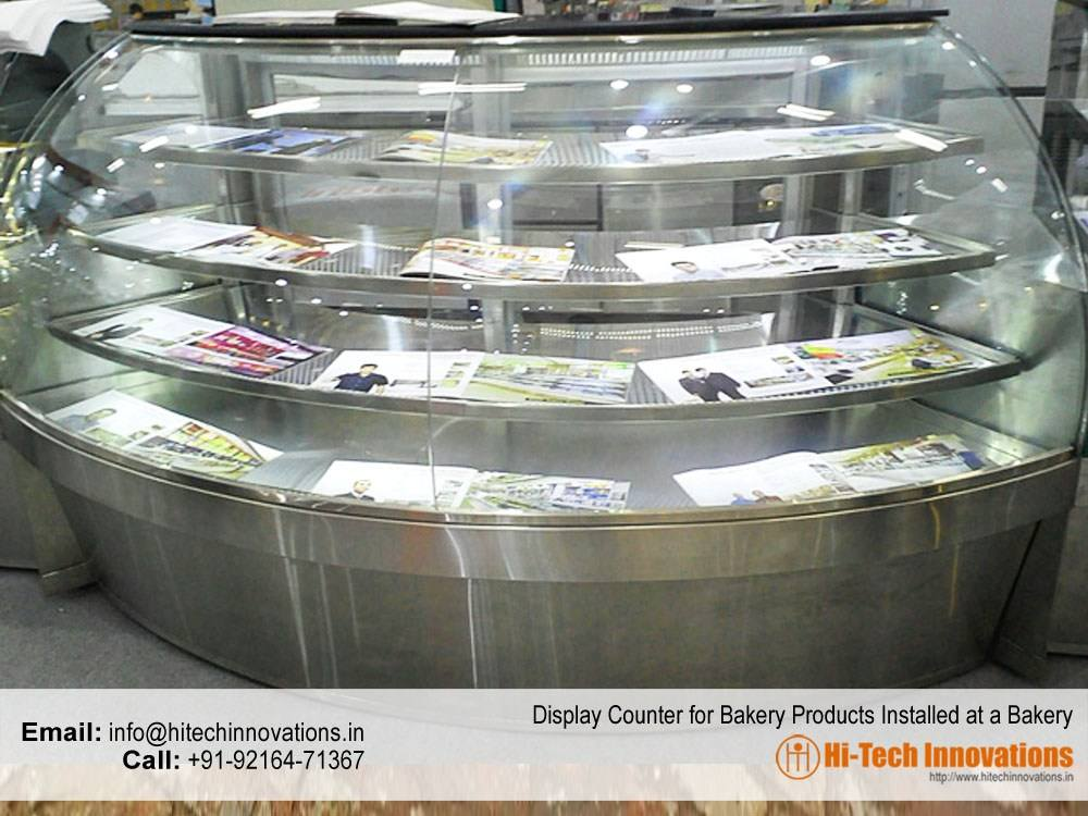 Display Counter for Bakery Products Installed at Bakery