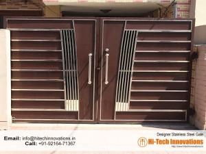 Designer Steel Gate (Code 0327-2017-B)