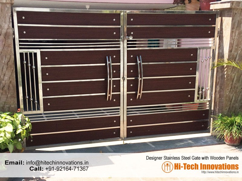 Designer Steel Gate (Code 03-27-2017-C)