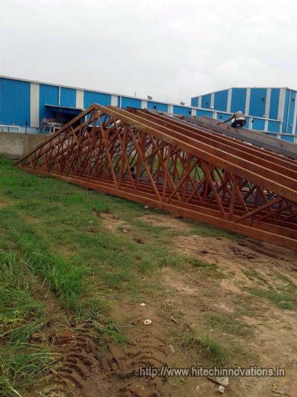 Industrial Steel Trusses
