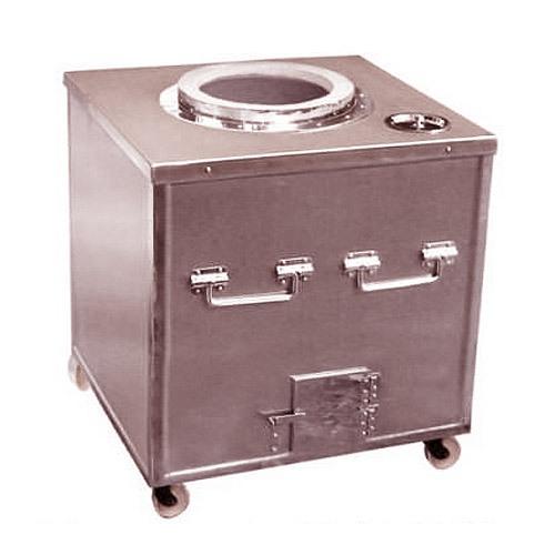 SS Cladded Tandoor Gas Charcoal HTI-TANDOOR-001