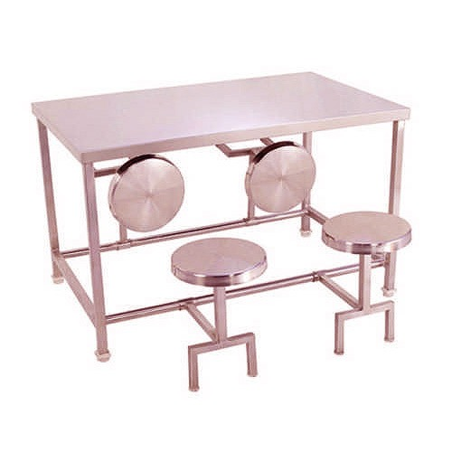 Stainless Steel Table With Stool-HTI-SSTS-001