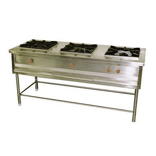 Three Burner Range HTI-TBR-001