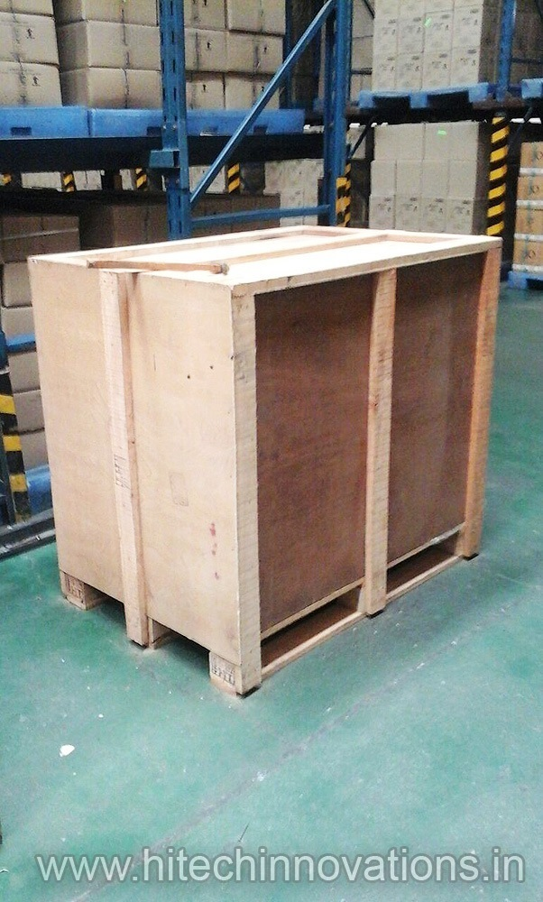 Wooden Shipping Crates Transit Packing Case Box 02