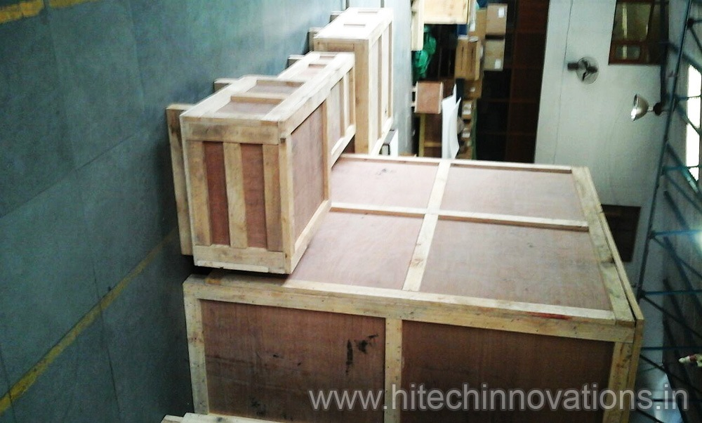 Heat Treated Wooden Shipping Crates Transit Packing Case Boxes of Various Sizes. As per your requirements.