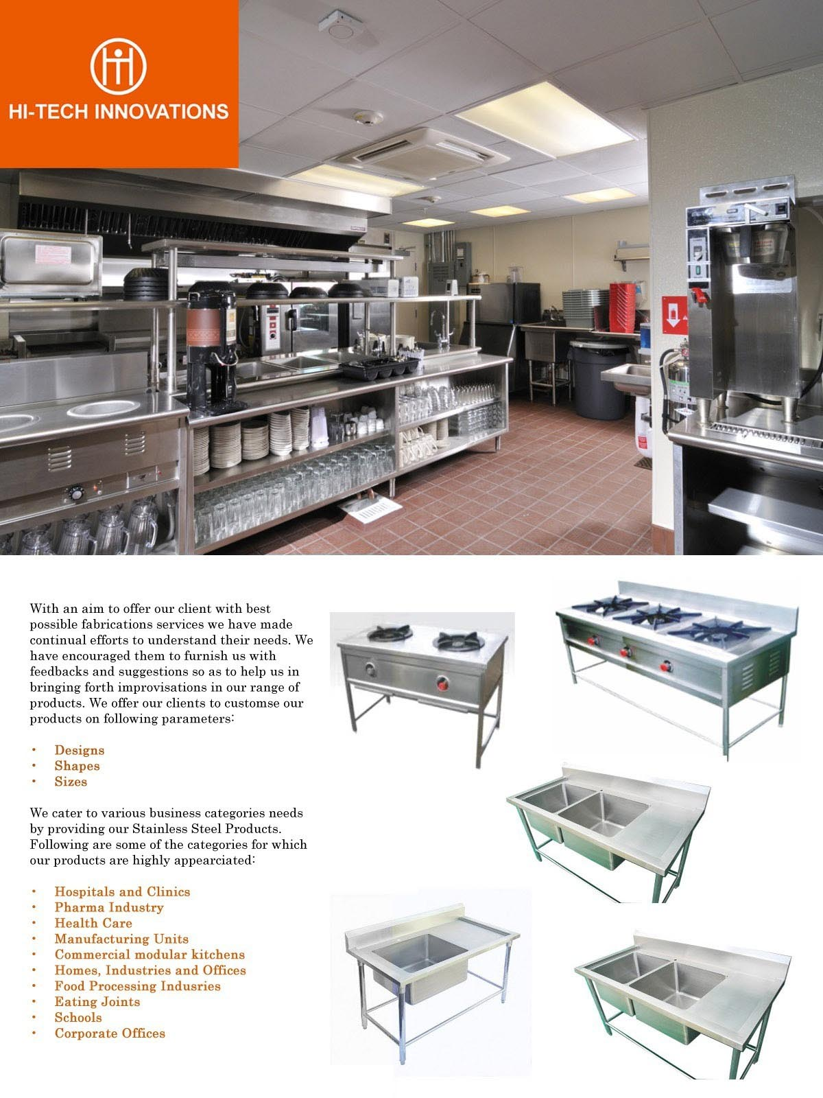 Commercial Kitchen Brochure - Page 2