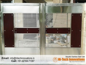 Stainless Steel Gate – HT-SSG-002