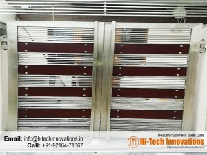 Stainless Steel Gate – HT-SSG-003