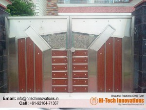 Stainless Steel Gate – HT-SSG-006