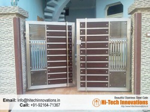 Stainless Steel Gate – HT-SSG-00A
