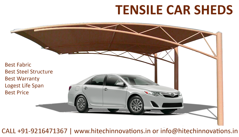Tensile Car Shed Manufacturer