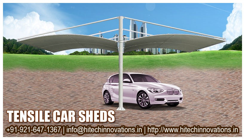 Tensile Car Parking Shade – Multiway