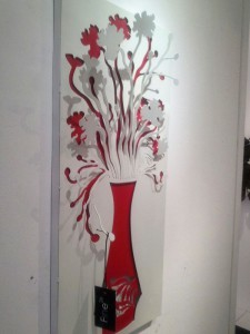 Wall Mural Flowers 04