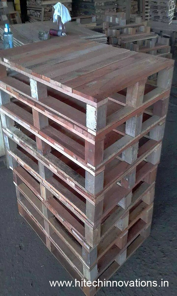 Wooden Pallets Ready for Delivery at our Factory