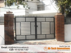 Wrought Iron Gate with Polycarbonate Sheet – HI-WRT002