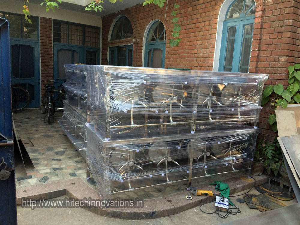 6 Canteen Tables with 48 stools Ready for Delivery