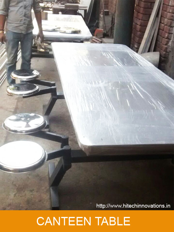 Canteen Table Ready For Dispatch
