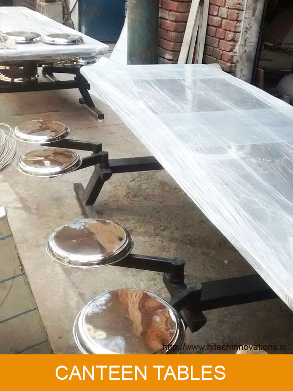 Canteen Table Ready For Delivery