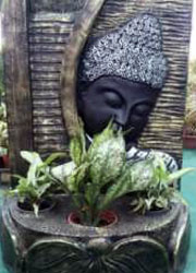 "Budha with Fountain (Dimensions L:20"", H:31, W:14"") INR @ 4200"