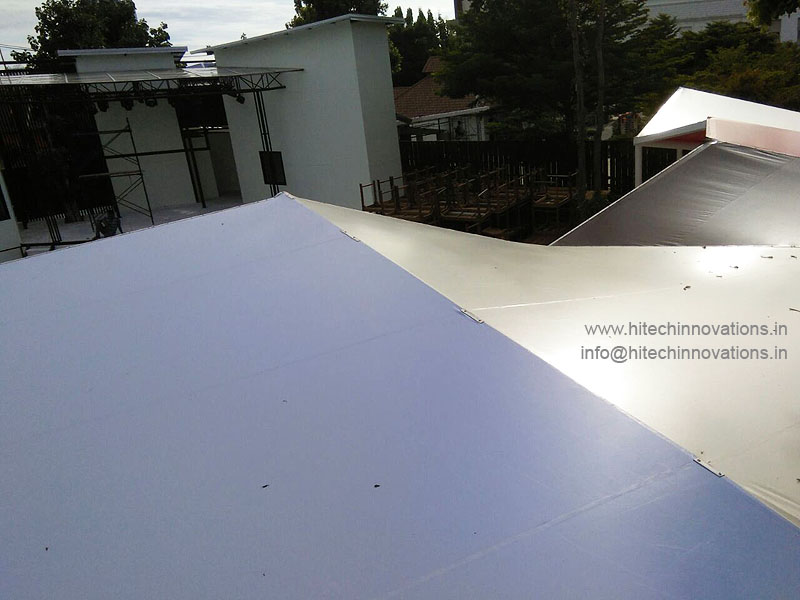 Tensile Shed Top View