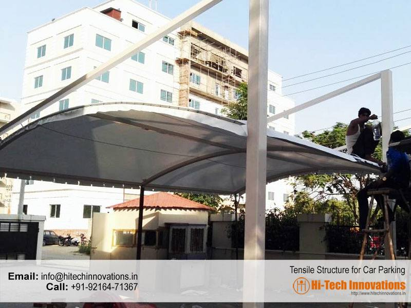 Tensile-Structure-for-Car-Parking