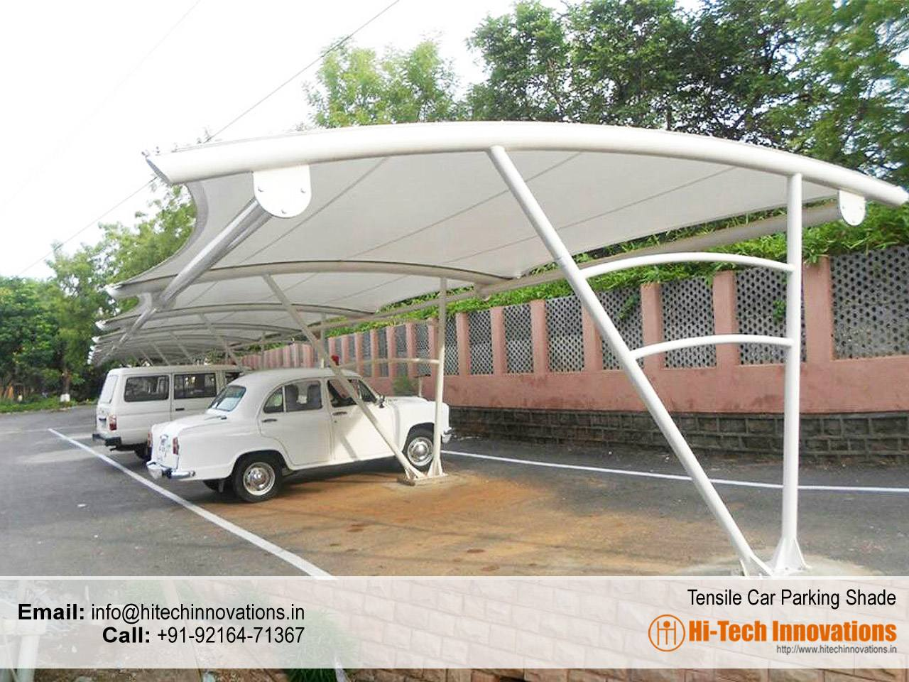 Tensile Car Parking Shade in Chandigarh