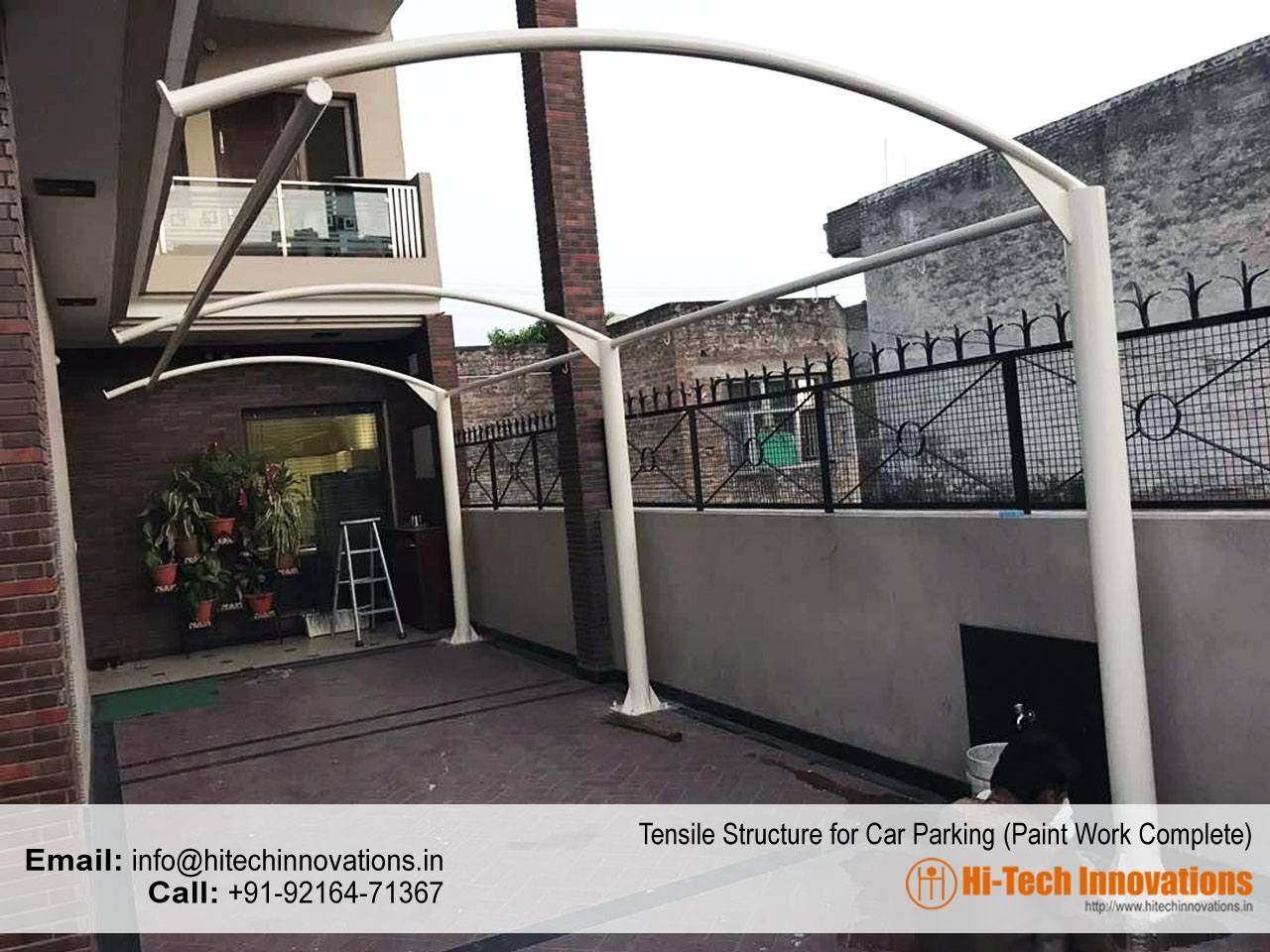 Tensile Structure Chandigarh Paint Work