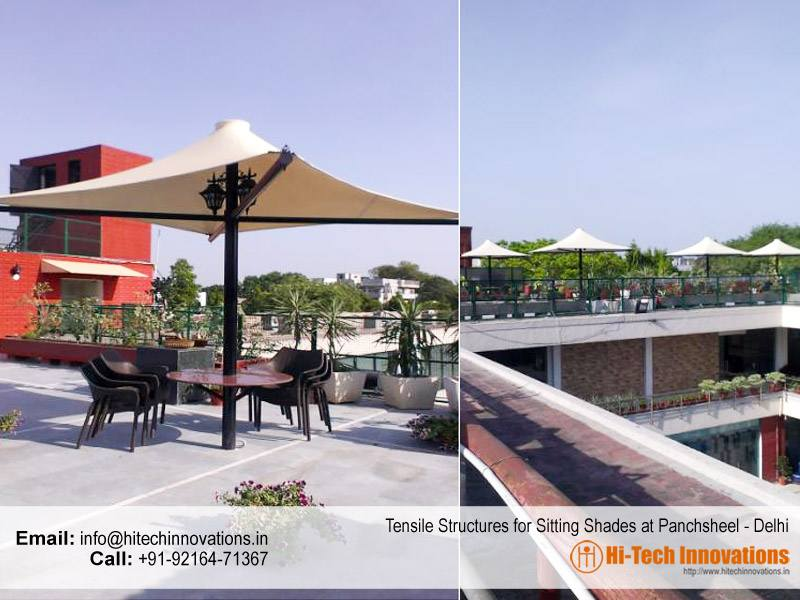 Tensile Structure Sitting Shade Delhi