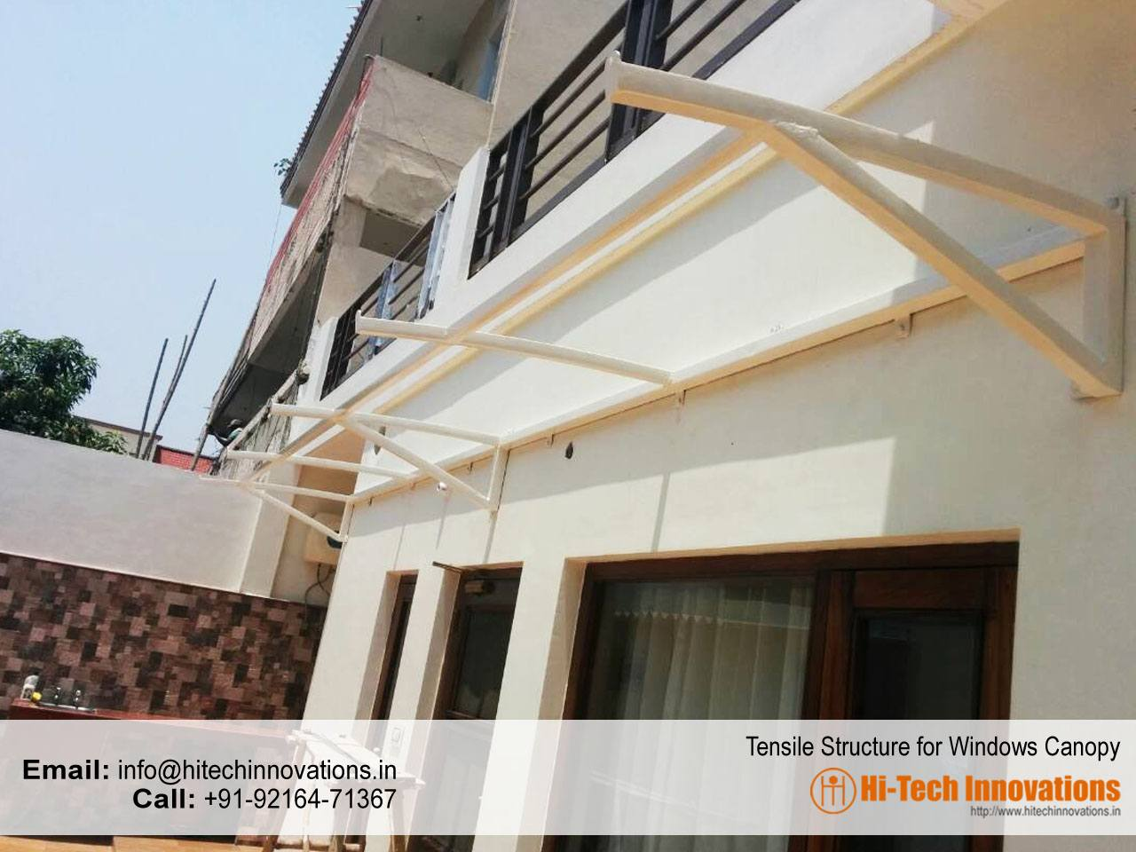 Tensile Structure for Window Canopy