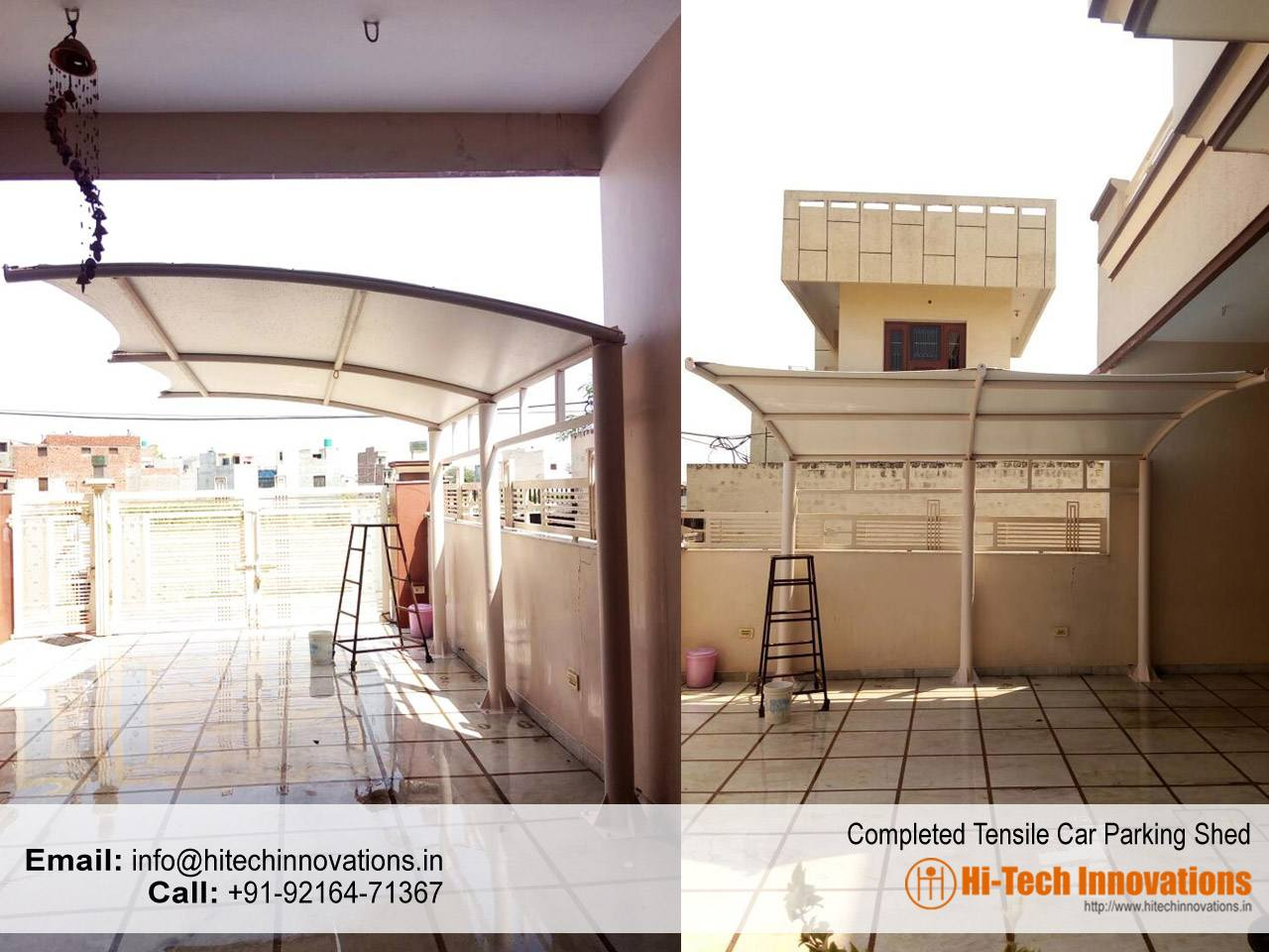 Completed-Tensile-Car-Parking-Shed