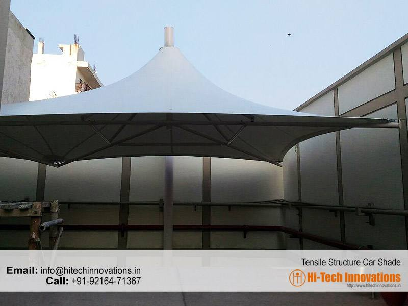 Tensile Shade Structure for Cars