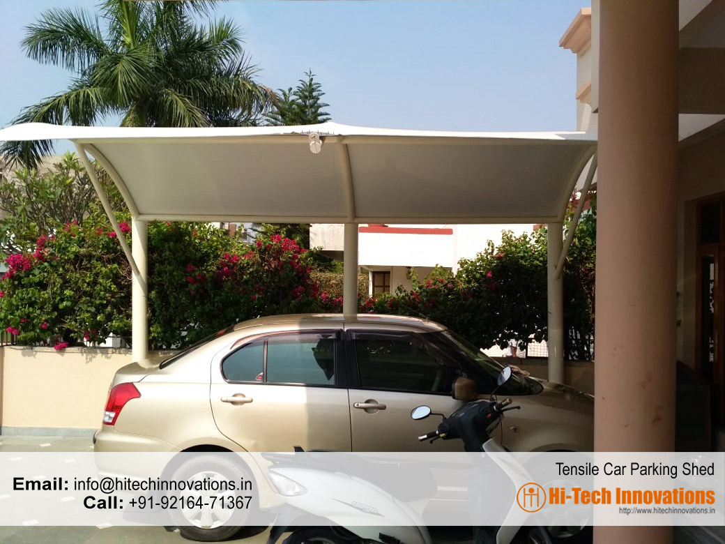 Car Parking Shed – Tensile Structure (Mohali)