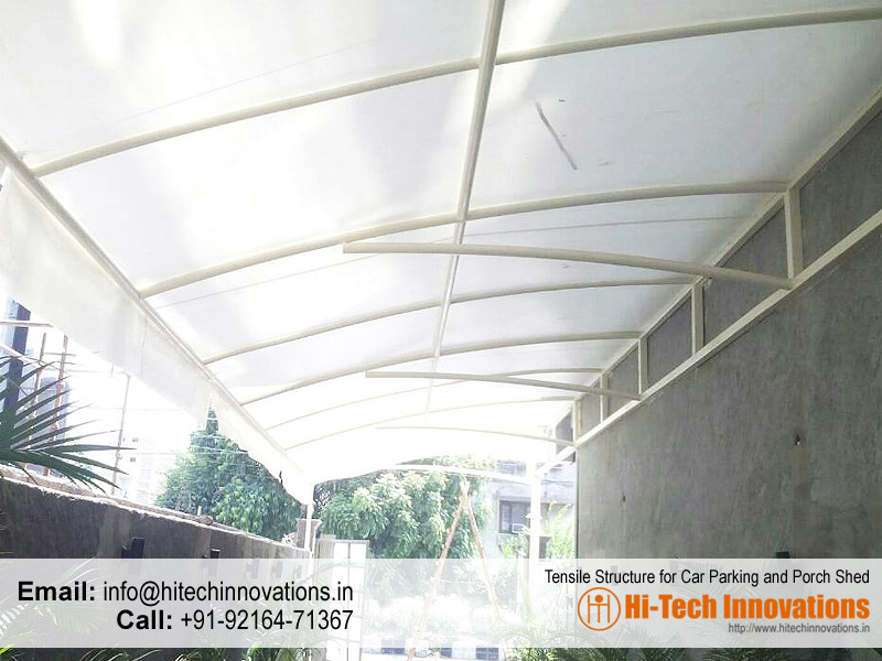 Tensile Car and Porch Shed in Chandigarh | Mohali | Panchkula |