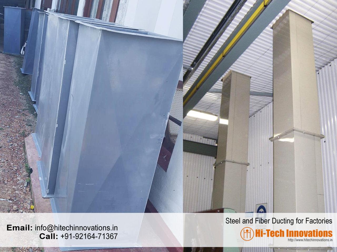 Steel Ducting | Fiber Ducting | Fume Ducting | Steel Fabrication