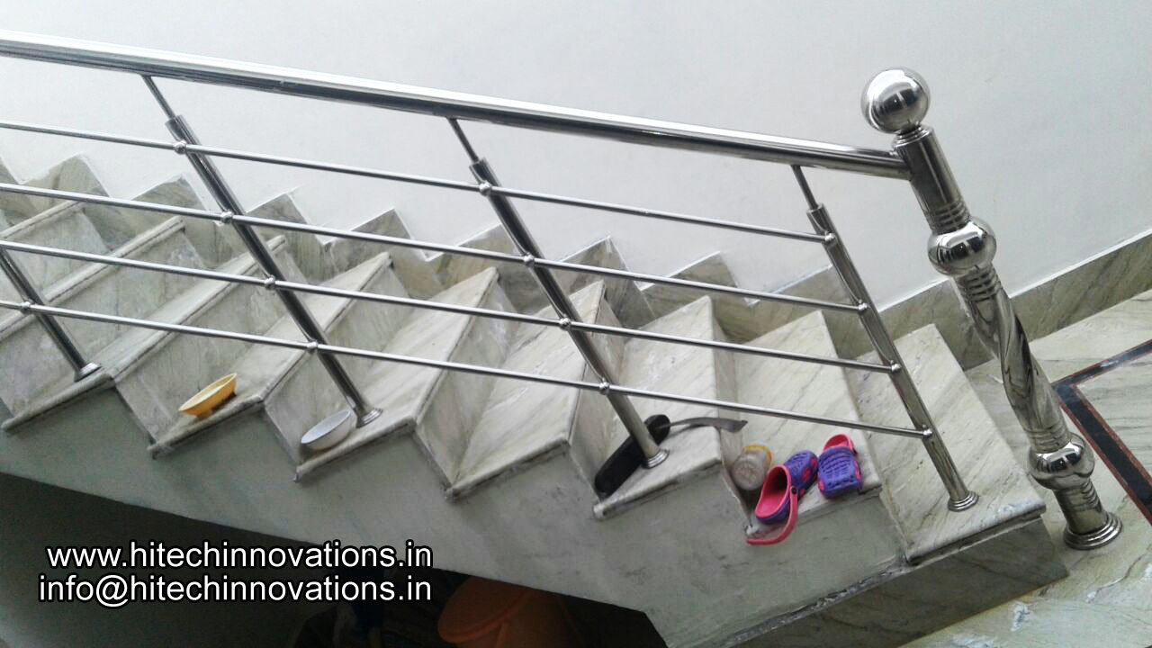 Steel Railing for Stairs 06