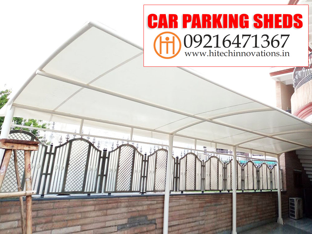 Car Parking Shed in Ludhiana | Jalandhar | Shimla