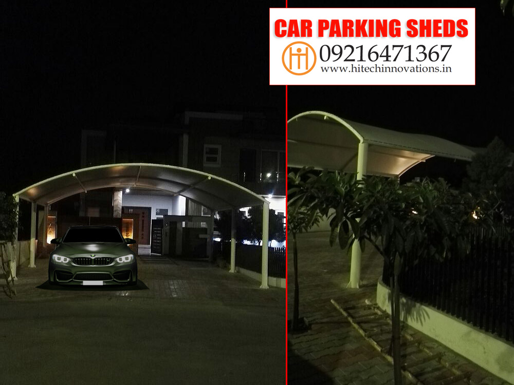 Car Parking Shed in Jammu