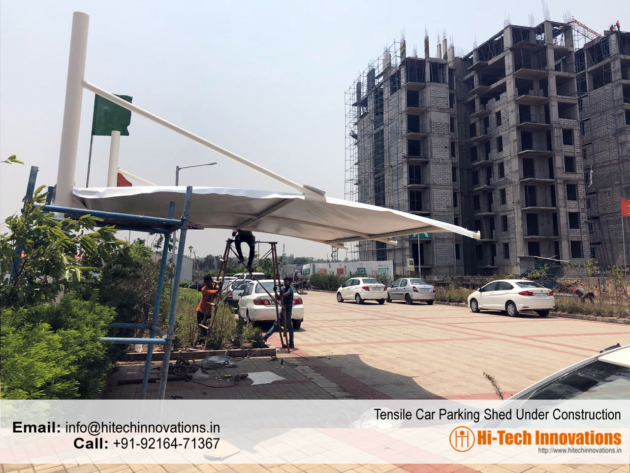 Car Parking Shed in Ludhiana