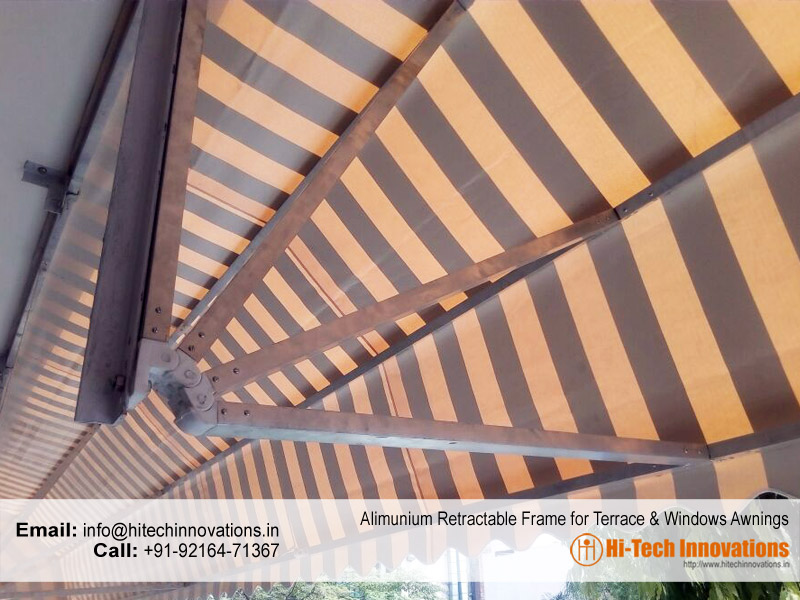 Aluminium Frame for Retractable Awnings