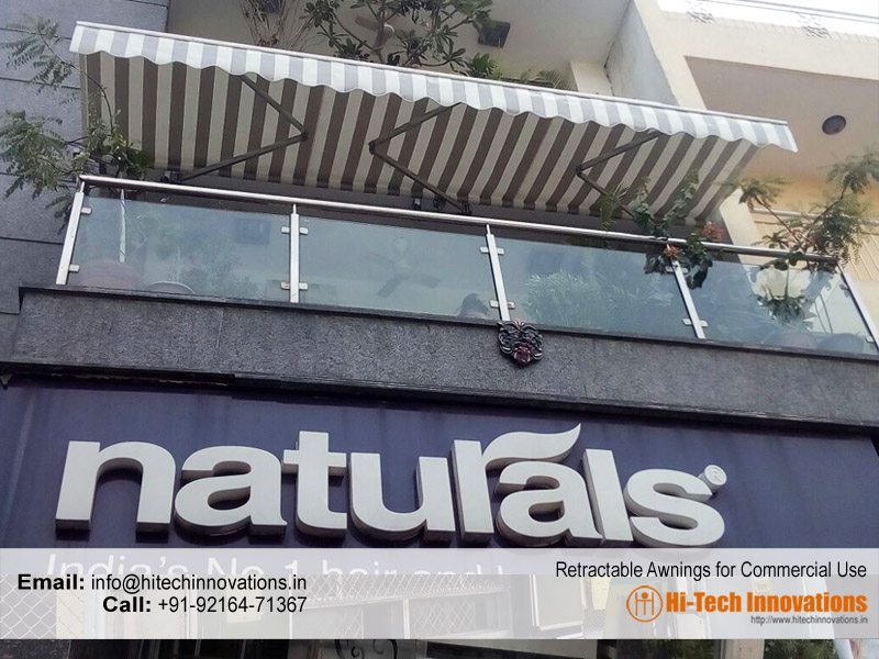 Retractable Awnings for Commercial Use