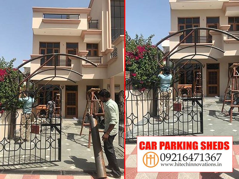 Making Car Shed in Chandigarh