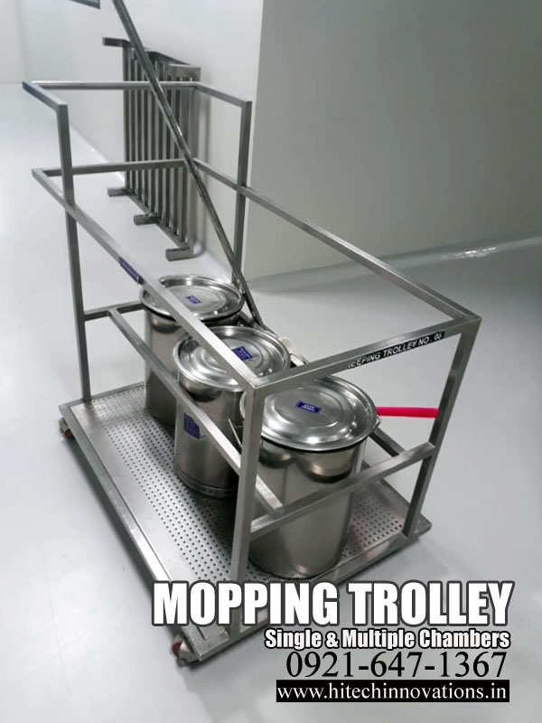 Mopping Trolley | Sweeping Trolley
