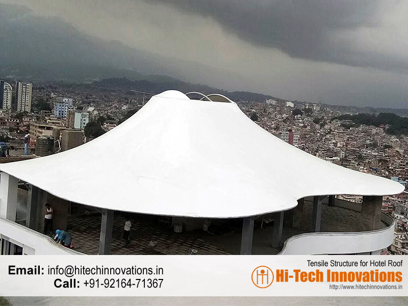 Tensile Structure | Steel Structure for Hotel Roof